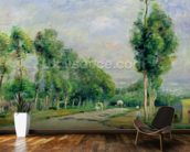 The Road to Versailles at Louveciennes (oil on canvas) wall mural kitchen preview