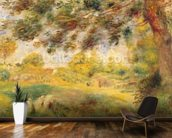 Spring Landscape (oil on canvas) wall mural kitchen preview