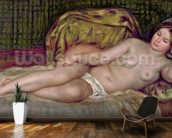 Large Nude, 1907 (oil on canvas) mural wallpaper kitchen preview