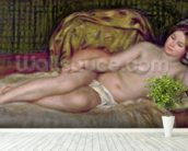 Large Nude, 1907 (oil on canvas) mural wallpaper in-room view