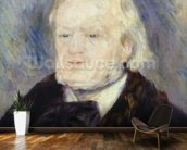Portrait of Richard Wagner (1813-83) 1882 (oil on canvas) mural wallpaper kitchen preview