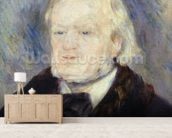 Portrait of Richard Wagner (1813-83) 1882 (oil on canvas) mural wallpaper living room preview