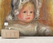 Portrait of a Child wallpaper mural living room preview