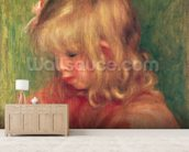 Child Drawing, 1905 wall mural living room preview