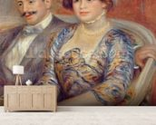Monsieur et Madame Bernheim de Villers, 1910 (oil on canvas) wallpaper mural living room preview