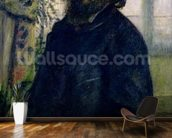 Portrait of Claude Monet (1840-1926) 1875 (oil on canvas) wall mural kitchen preview