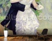 Dance in the City, 1883 (oil on canvas) wall mural kitchen preview