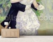 Dance in the City, 1883 (oil on canvas) wall mural living room preview