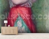 Dancing Girl with Tambourine, 1909 wall mural living room preview