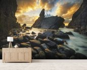 A Place of Solitude mural wallpaper living room preview