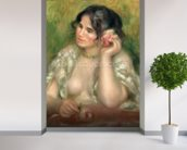 Gabrielle with a Rose, 1911 (oil on canvas) wall mural in-room view