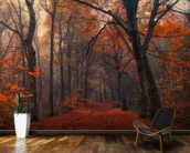 Decorative Forest wallpaper mural kitchen preview