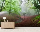 The Forest Maravillador wall mural living room preview
