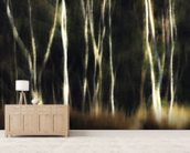 Birch Grove wallpaper mural living room preview