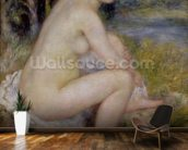 Nude in a Landscape, 1883 (oil on canvas) wall mural kitchen preview
