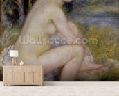 Nude in a Landscape, 1883 (oil on canvas) wall mural living room preview