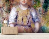 Gypsy Girl, 1879 wall mural living room preview