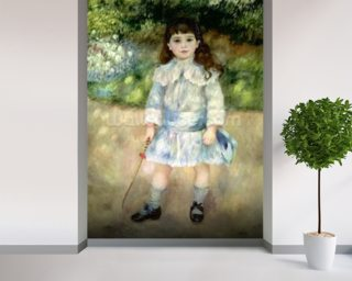 Child with a Whip, 1885 (oil on canvas) wallpaper mural