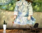 Child with a Whip, 1885 (oil on canvas) wallpaper mural kitchen preview