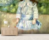 Child with a Whip, 1885 (oil on canvas) wallpaper mural living room preview