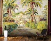 The Palm Trees, 1919 mural wallpaper kitchen preview