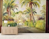 The Palm Trees, 1919 mural wallpaper living room preview