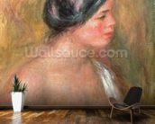 Portrait of Madeleine Bruno, 1913 (oil on canvaS) wall mural kitchen preview
