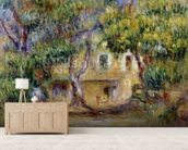 The Farm at Les Collettes, c.1915 wallpaper mural living room preview