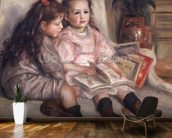 Portraits of children, or The Children of Martial Caillebotte, 1895 wall mural kitchen preview