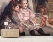 Portraits of children, or The Children of Martial Caillebotte, 1895 wall mural living room preview