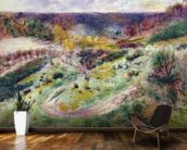 Landscape at Wargemont, 1879 wall mural kitchen preview