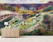 Landscape at Wargemont, 1879 wall mural living room preview