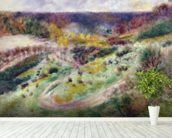 Landscape at Wargemont, 1879 wall mural in-room view