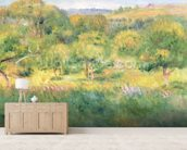 The edge of a forest in Brittany, 1893 wall mural living room preview