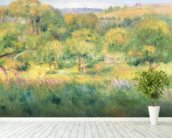 The edge of a forest in Brittany, 1893 wall mural in-room view