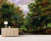 The road near Cagnes, 1905 mural wallpaper living room preview
