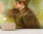 Portrait of Coco painting, c.1910-12 wall mural living room preview