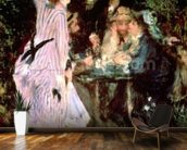 In the Garden, or Under the Trees of the Moulin de la Galette, 1875 (oil on canvas) wall mural kitchen preview