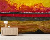 Painting of a Colourful Sunset wall mural living room preview