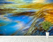 Vermont, Branford State Park, Autumn Trees mural wallpaper in-room view
