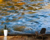 West River, Vermont - Colorful Abstract Of Flowing wall mural kitchen preview