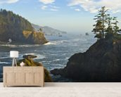 Pacific Ocean from the Coast wallpaper mural living room preview