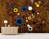 Sweetness - Abstract Flora wallpaper mural living room preview