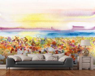 Field Of Joy Wall Murals Wallpaper