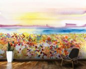 Field Of Joy mural wallpaper kitchen preview