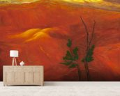 Evening Light Over The Naturally Red Hills wall mural living room preview