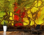 Rhapsody Of Colors 42, Abstract Art wallpaper mural kitchen preview