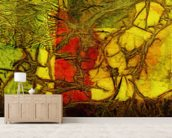 Rhapsody Of Colors 42, Abstract Art wallpaper mural living room preview