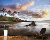 Maui Makena Beach wall mural kitchen preview