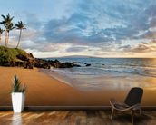 Hawaii, Maui, Makena, Secret Beach At Sunset 2 wallpaper mural kitchen preview